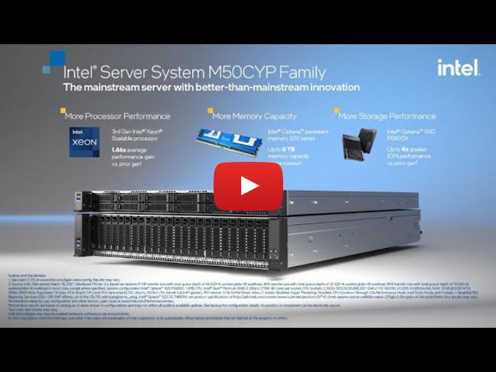 IntelServerSystemM50CYP Tour Video